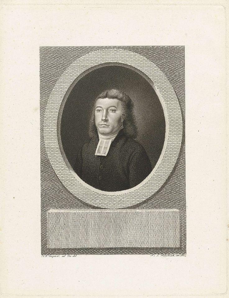 Jan Willem Caspari   Portret van Henricus Oort, Jan Willem Caspari, J. van Ledden Hulsebosch, 1804   Portret in ovale lijst van Henricus Oort, predikant te Zwolle en Hoogeveen. Buste naar links. Oort heeft een zwarte toga aan met een witte bef.