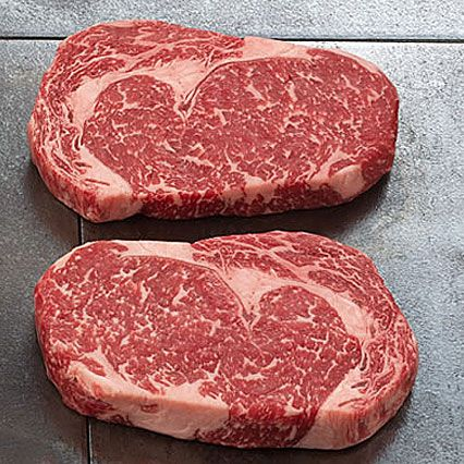 Kobe beef... check out the marbling