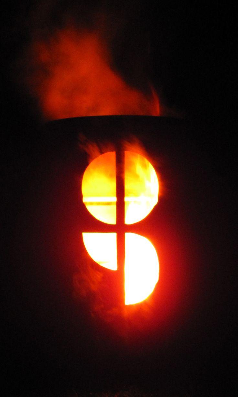 Brændende logo