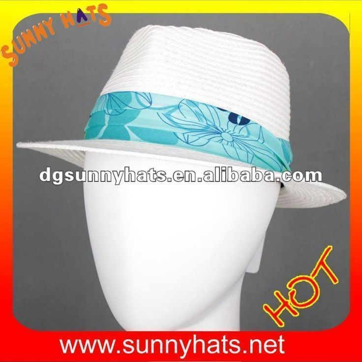 White fedora hats for women $2.5~$5