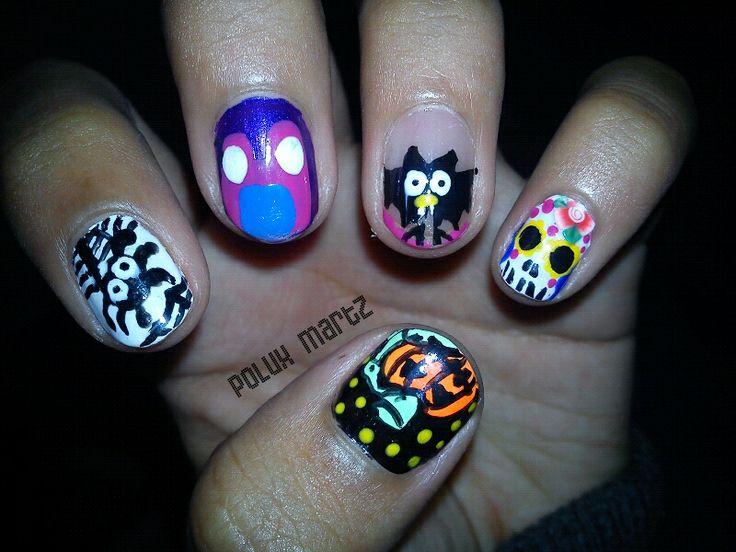 64 mejores imágenes de polux martz nail art en Pinterest | Arte de ...