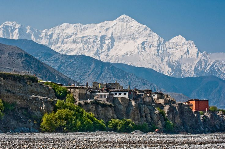 Kagbeni - Annapurna circuit trek