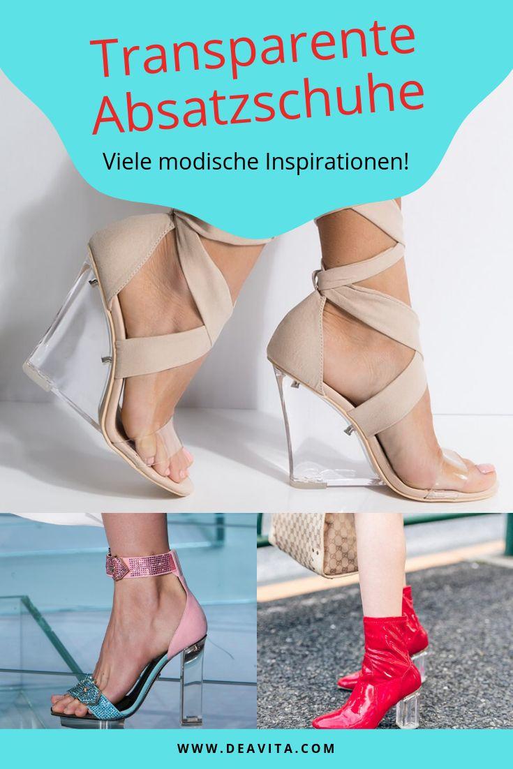 Transparente Absatzschuhe – so tragen wir den Modetrend dieses Jahr! – DEAVITA