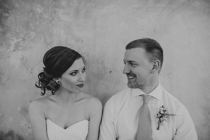 wedding portrait of a couple