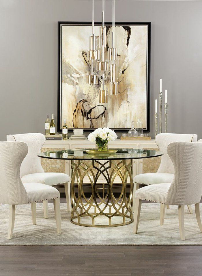 Best 25 table ronde en verre ideas on pinterest table for Table ronde verre salle a manger