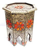 Moroccan table http://www.casbahdecor.com/cat_tables_all.cfm