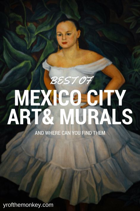 CDMX aka Mexico City, capital of Mexico is a massive metropolis! Read this guide to make the best of your 72 hours there and find the best of art &murals that you cannot miss!