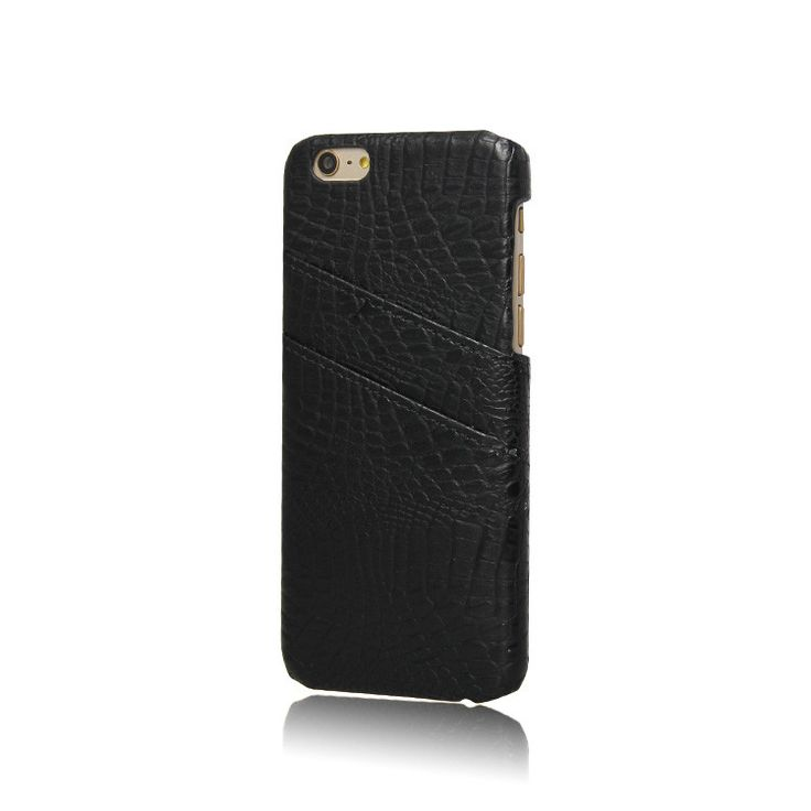 The perfect phone case store your cards and ID's! Securely holds up to 3 cards. Crocodile Embossed Phone Case Hold credit cards, ID's and cash comfortably Prote