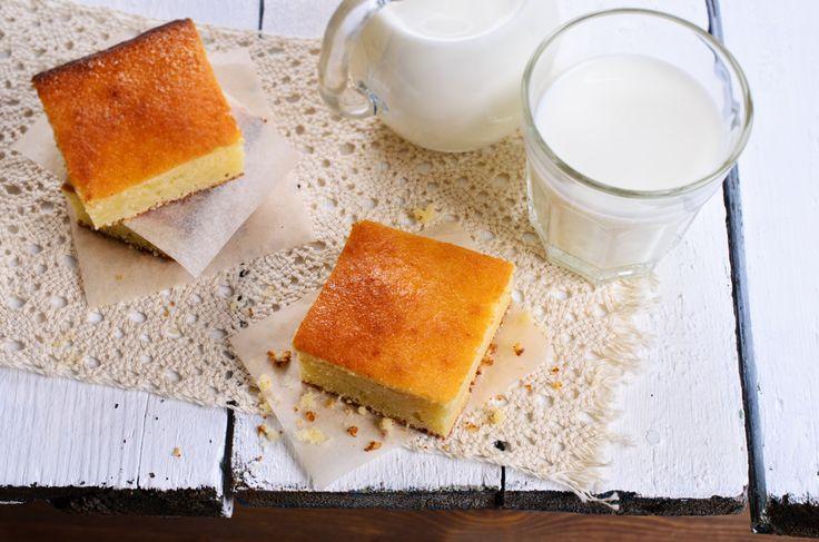 Vanilla Blondies : big batch recipe!
