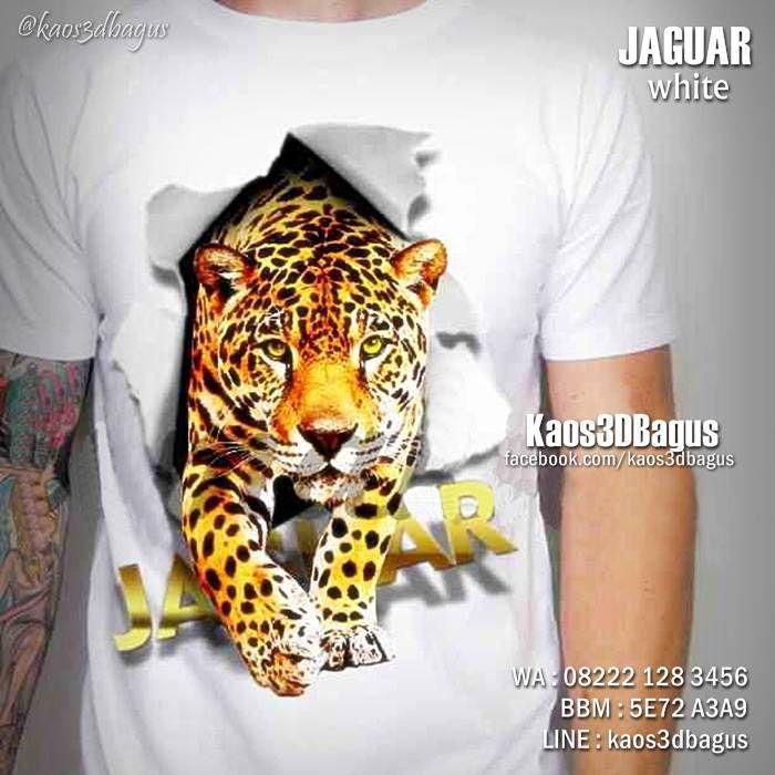 Kaos JAGUAR, Kaos3D, Kaos Macan Tutul, Kaos ANIMAL, https://www.facebook.com/kaos3dbagus, WA : 08222 128 3456, LINE : Kaos3DBagus