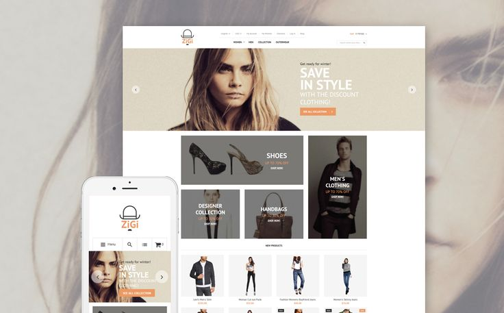 Apparel Responsive Magento Theme. Additional features, comprehensive documentation and stock photos are included.