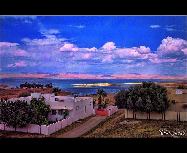 Mosul Dam Lake, Iraq.