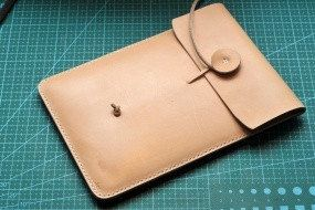 Pattern template  case ipad mini Leather handmade