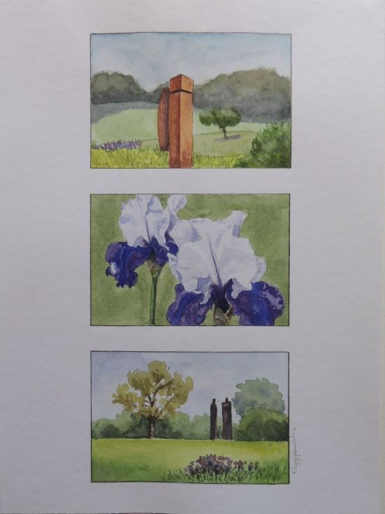 Buy The gardens of Vullierens, Watercolours by Krystyna Szczepanowski on Artfinder. Discover thousands of other original paintings, prints, sculptures and photography from independent artists.