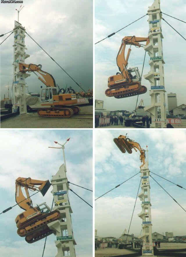 Excavator Stunts Excavator Climbing Stunt u2014 Postworthy Heavy - dragline operator sample resume