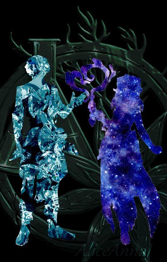 Ezarel and Leila by AnnaEliseJ