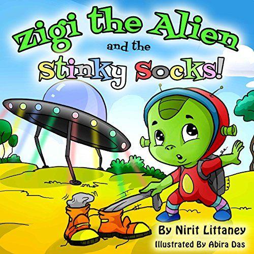 Free: Zigi the Alien and the Stinky Socks - http://www.justkindlebooks.com/free-zigi-the-alien-and-the-stinky-socks/