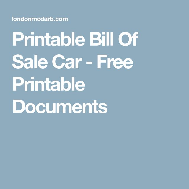 The 25+ best Bill of sale car ideas on Pinterest Bill of sale - bill of sale word doc