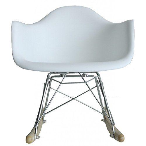 Rocking Chair Baby - MSD1540601 - Blanco - Artículos para el hogar
