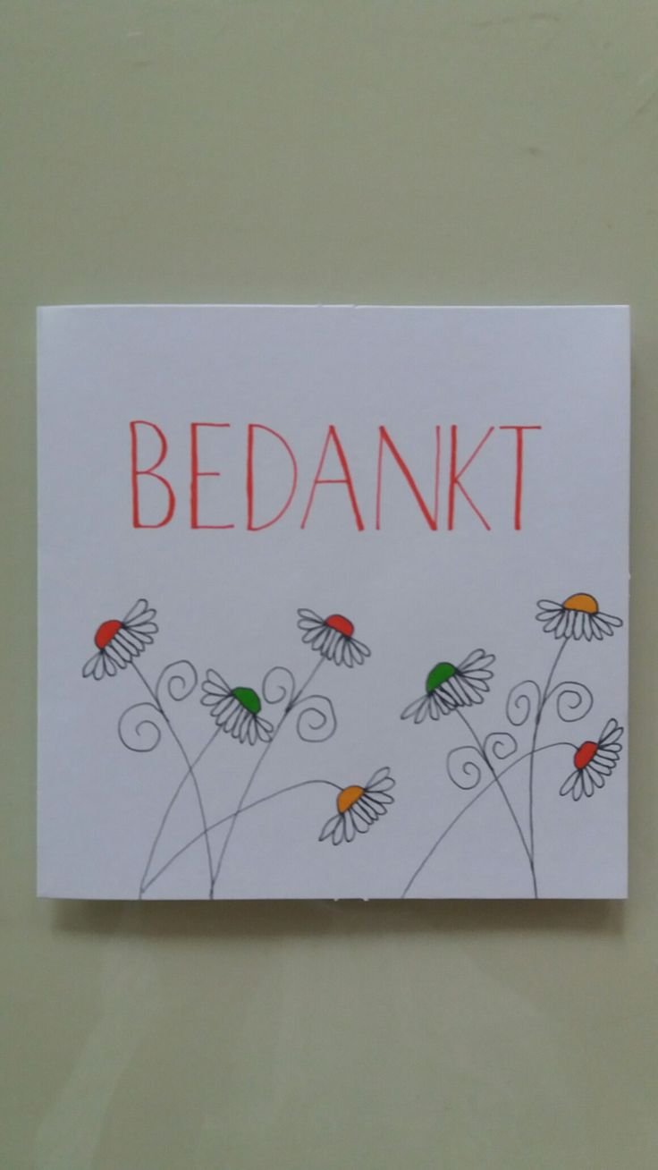 Bedankt by Astrid