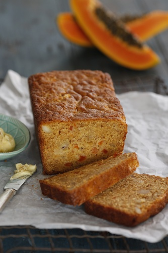 MasterChef Alvin Quah's papaya and banana bread recipe - yum!