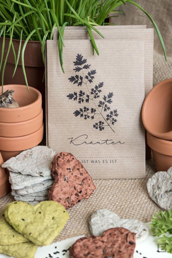 Blütenkonfetti vs. Seed Bombs Samenbomben, Verschenken