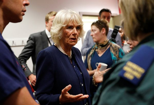Prince Charles Photos Photos - Prince Charles, Prince of Wales and Camilla, Duchess of Cornwall meet members of staff at the Royal London Hospital following the London Bridge Terror Attack, on June 6, 2017 in London, England. - The Prince Of Wales And Duchess Of Cornwall Meet Emergency Services Personnel Involved In The London Bridge Terror Attack