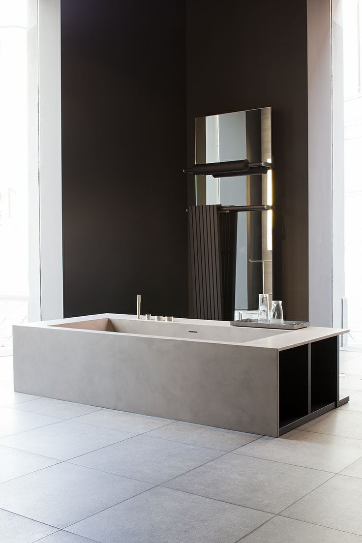 BOFFI Swim Bath with concrete finish