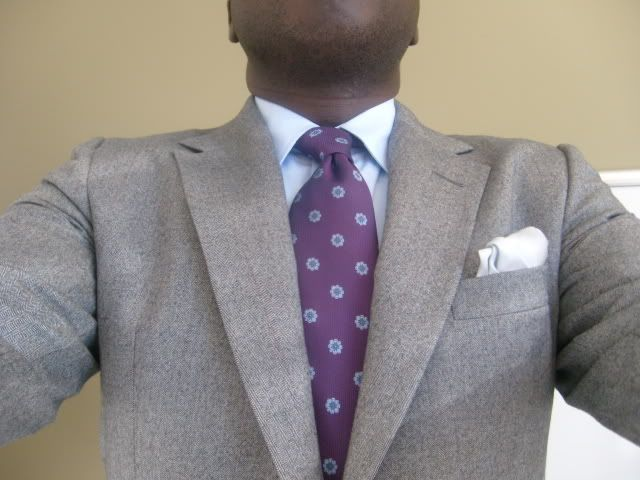 Grey And Purple For Wedding