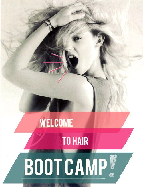 welcome to hair bootcamp...