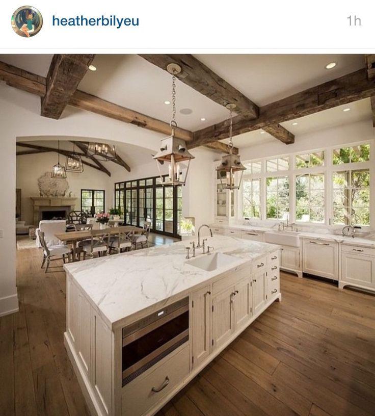 Kitchen Living Room Combination: 32 Best Kitchen/living Room Combo Images On Pinterest
