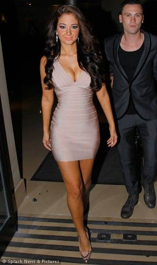 Inspired by this style on Tulisa Contostavlos. This short sleeveless number is the one for a night out at the local club. Comfortable and soft, this sexy bandage dress hugs your contours with great ease and creates a simple and straight silhouette. With a short hemline and a flattering sleeveless design, this dress is great for women with toned arms and legs.