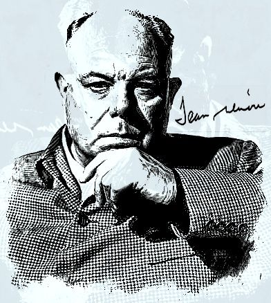 Jean Renoir was a French film director, screenwriter, actor, producer and author. As a film director and actor, he made more than forty films from the silent era to the end of the 1960s.