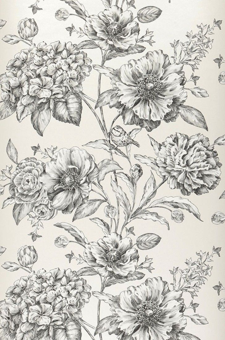 Syros | Floral wallpaper | Wallpaper patterns | Wallpaper from the 70s