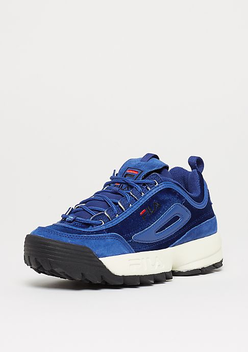 Fila Heritage Disruptor V Low WMN royal blue  4b474a5e57f3b