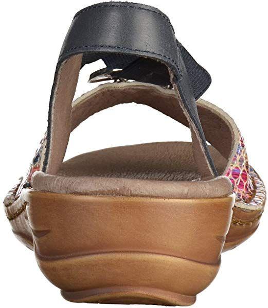 4a02229d7 ara 12-37237 G Femmes Sandale Bleu/Multi, EU 42: Amazon.fr ...