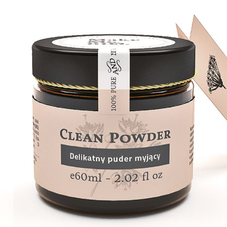 Clean Powder-delikatny puder myjący 60 ml Make Me Bio