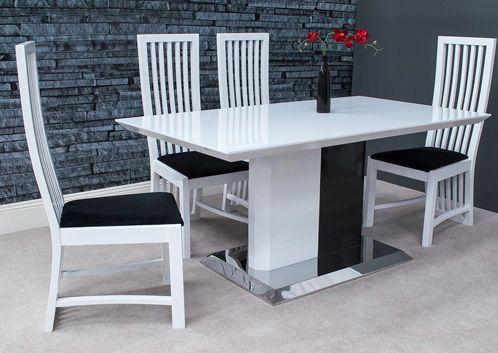 marolini, dining table, glass, modern