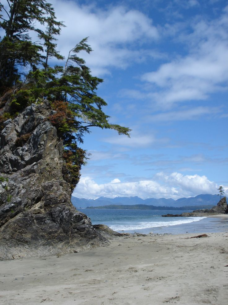 Brady's Beach, Bamfield West, Vancouver Island. Photograph by Toni Anderson.