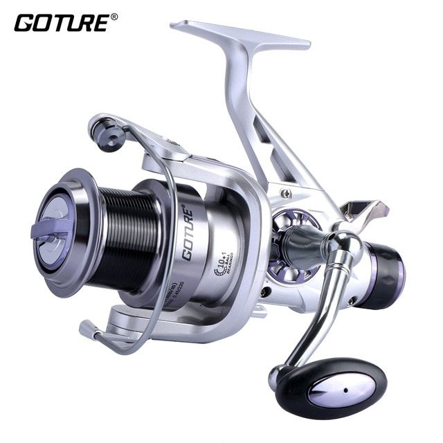 Goture Long Casting Spinning Fishing Reel Metal Spool Double