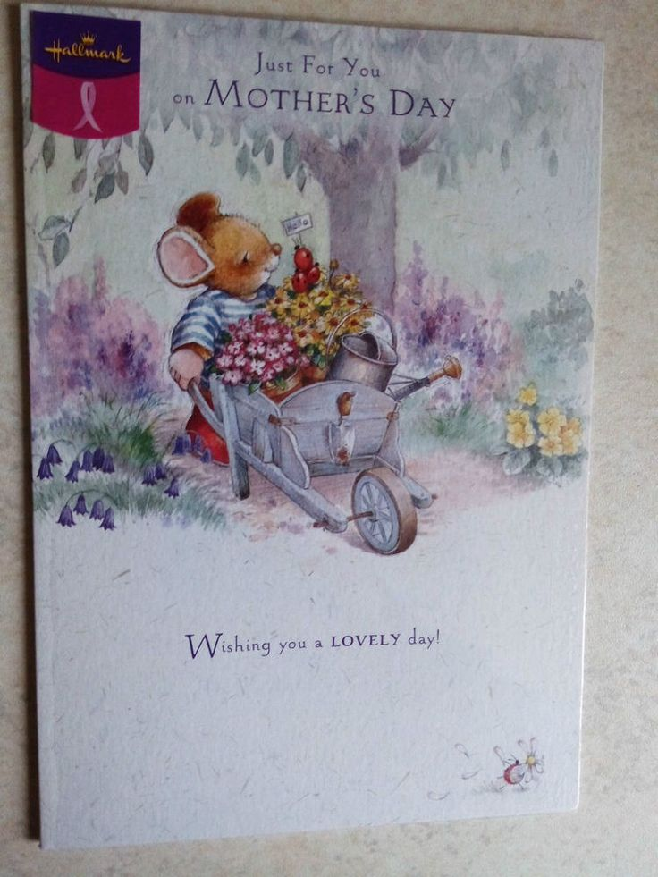Mother s Day Card  Just For you  Hallmark Greeting Card Breast Cancer