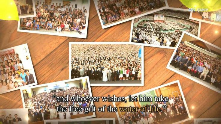 """the spirit and the bride say """"come, and receive the water of life"""""""