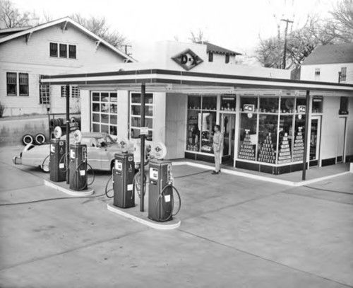 762 best Gas stations images on Pinterest | Old gas stations, Gas ...
