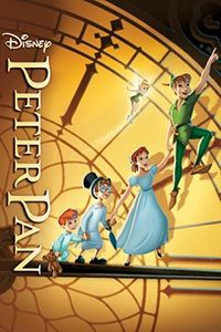 Peter Pan (Movie 1953) Wendy and her brothers are whisked away to the magical world of Neverland with the hero of their stories, Peter Pan. Such a great movie! #fantasy #disney