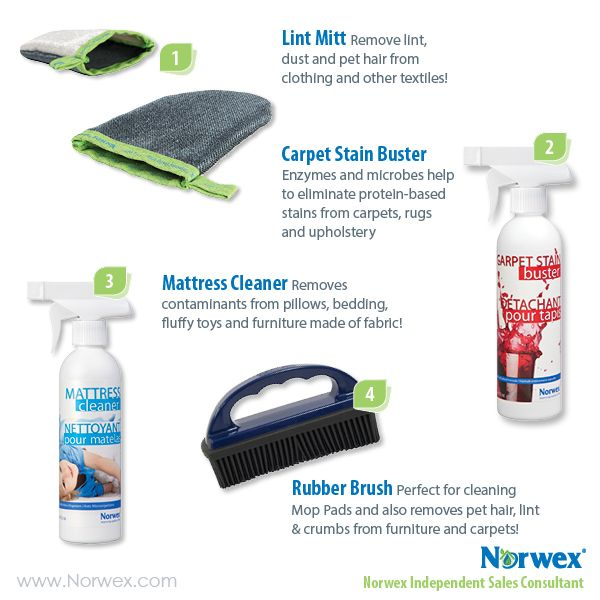 how to clean norwex dust mitt