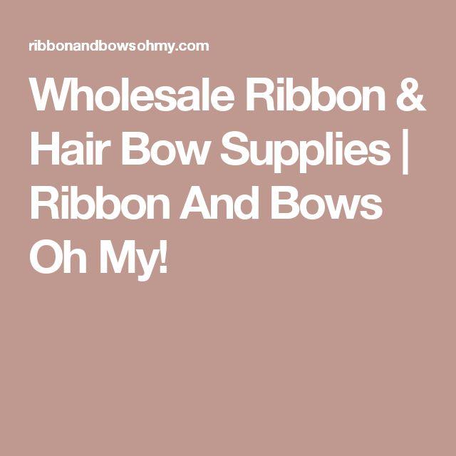 Wholesale Ribbon & Hair Bow Supplies | Ribbon And Bows Oh My!