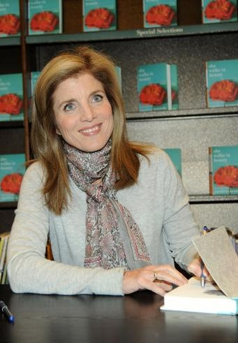 Caroline Kennedy. Lefty.