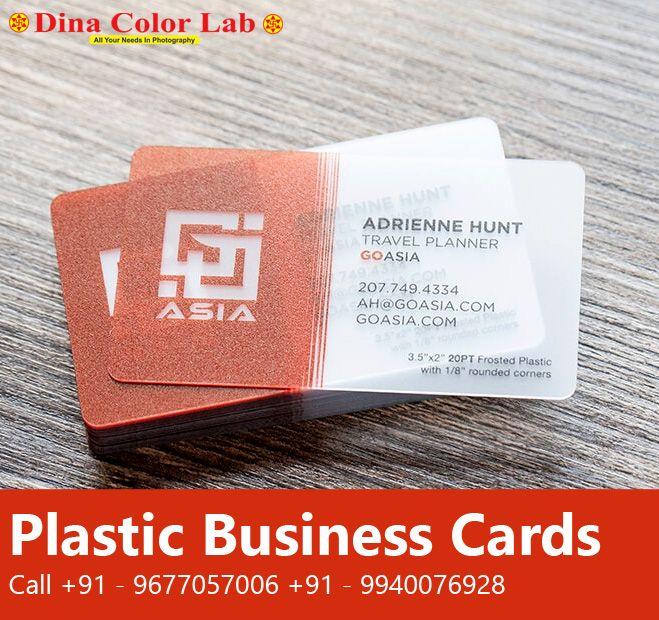 Plastic Business Cards Plastic Transparent Card In 2020 Plastic Business Cards Transparent Business Cards Business Cards Online