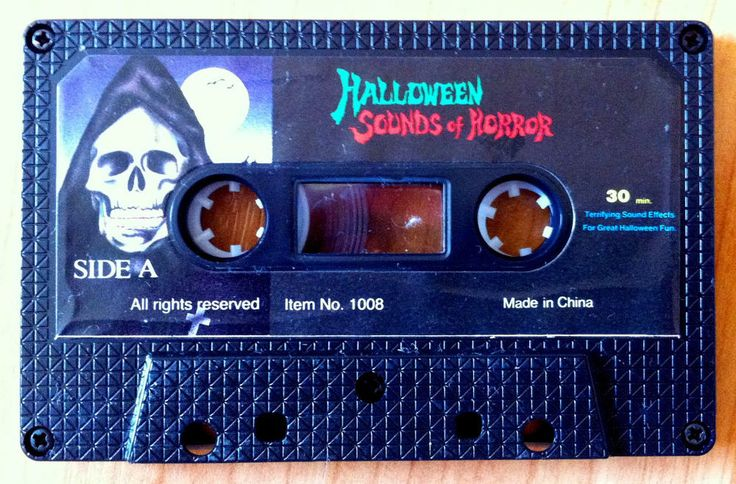 HALLOWEEN SOUNDS OF HORROR - Vintage 1990s NOVELTY STORE HAUNTED HOUSE Cassette! #Halloween