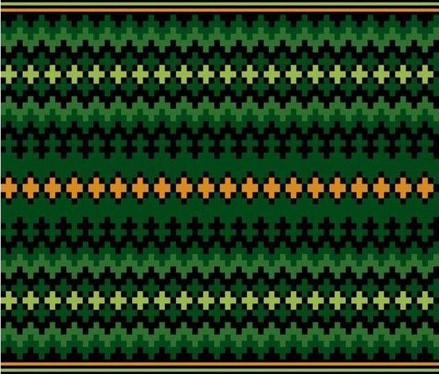 Grønt belte til beltestakk